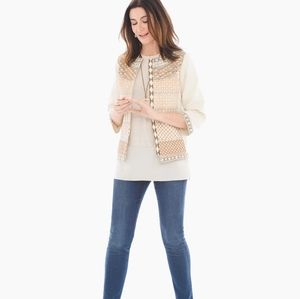 Chico's Collectables Embellished Jacket